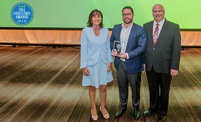 Toll Excellence Award Winner ITR