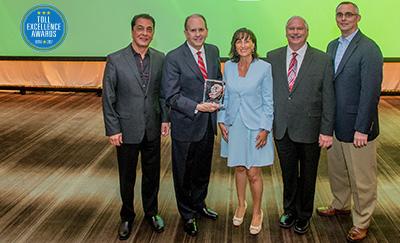 Toll Excellence Award Winner NTTA