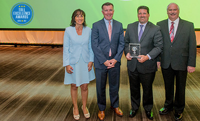 Toll Excellence Award Winner PA Turnpike