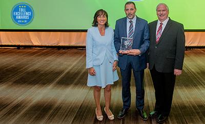 Toll Excellence Award Winner RTA