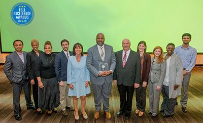 Toll Excellence Award Winner SRTA